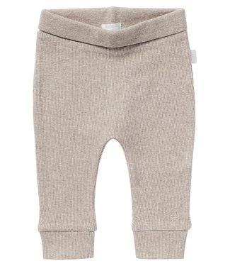 Noppies Baby Pants comfort rib Naura Taupe melange