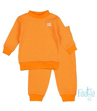 Feetje Wafel pyjama Oranje