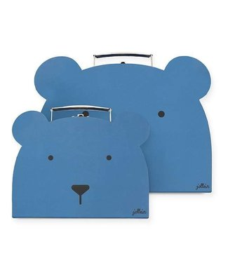 Jollein Speelkoffertje animal club steel blue