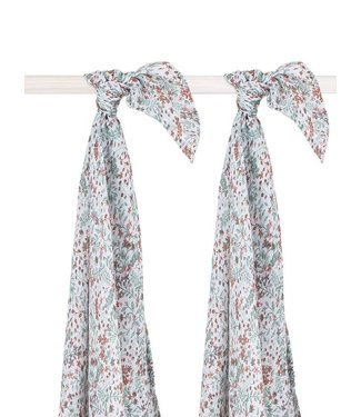 Jollein Swaddle bloom 2 pack