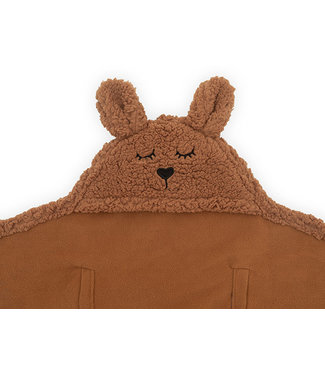 Jollein Wikkeldeken Bunny Caramel