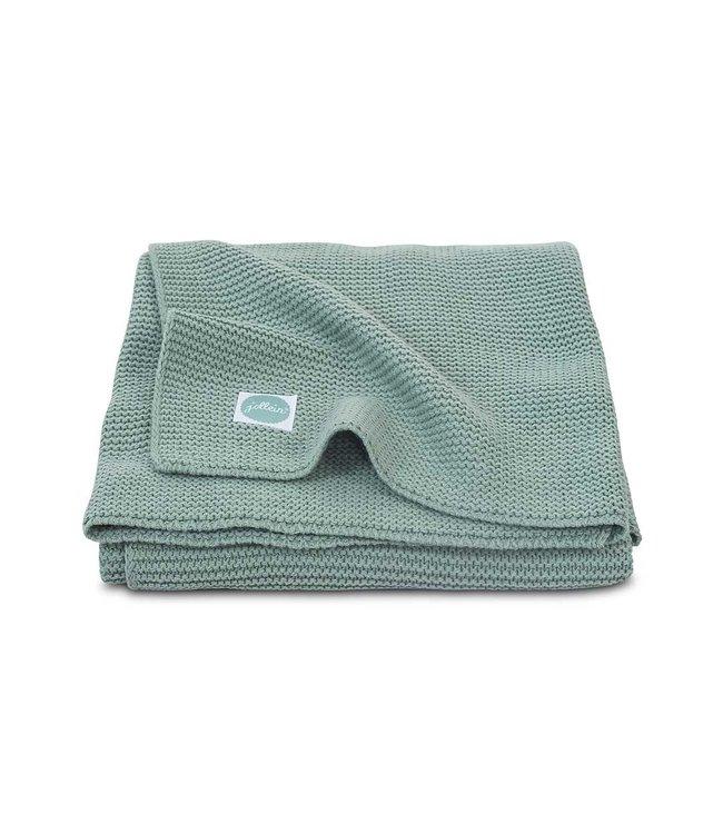 Jollein Deken 75x 100cm basic knit forest green
