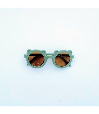 Feestbeest Zonnebril oortjes groen