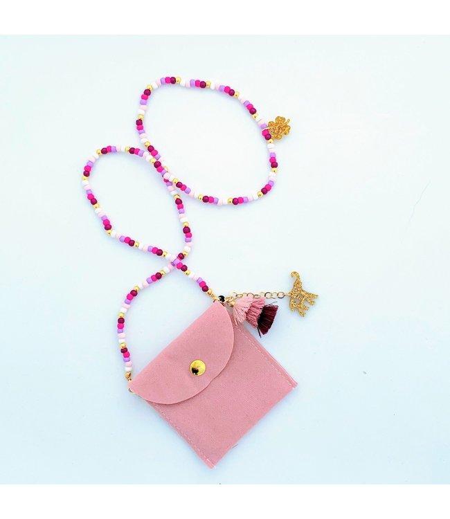 Feestbeest Tasje roze