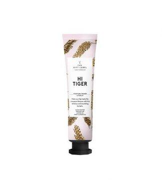 The gift label Lipbalm- hi tiger