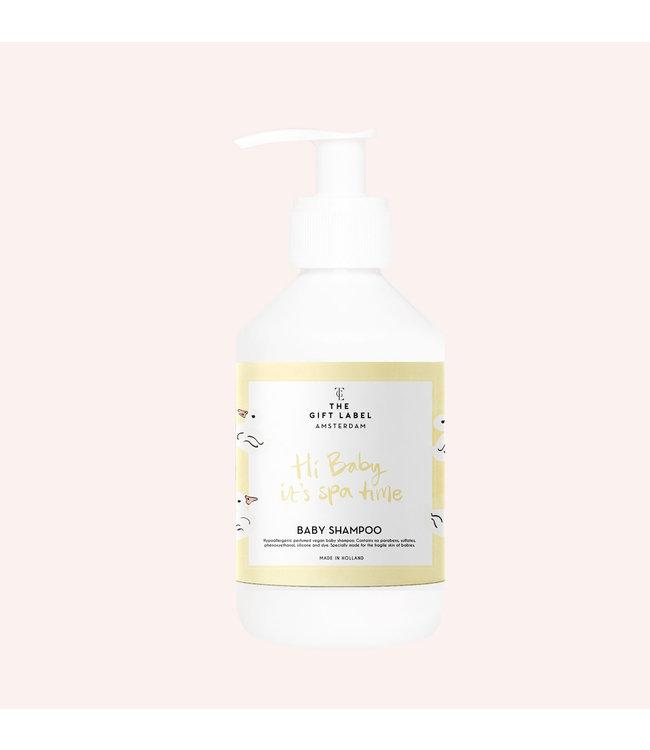 The gift label Baby Shampoo - Hi baby