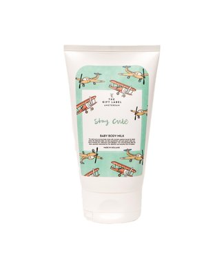 The gift label Baby bodymilk - Stay Cute