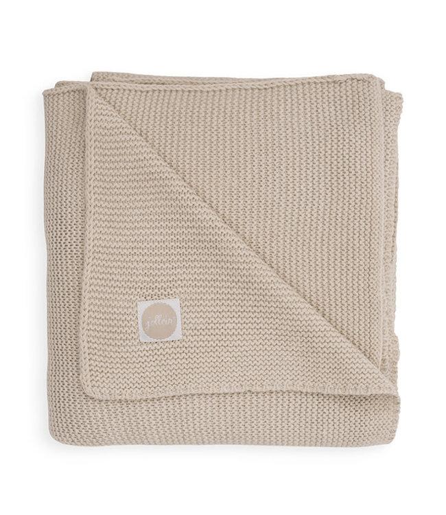 Jollein Basic knit nougat 75x100cm