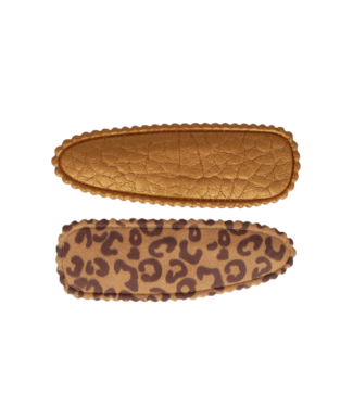 Your little miss Haarspeld leopard leather