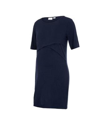 Mamalicious MLalison june Jersey dress D blue
