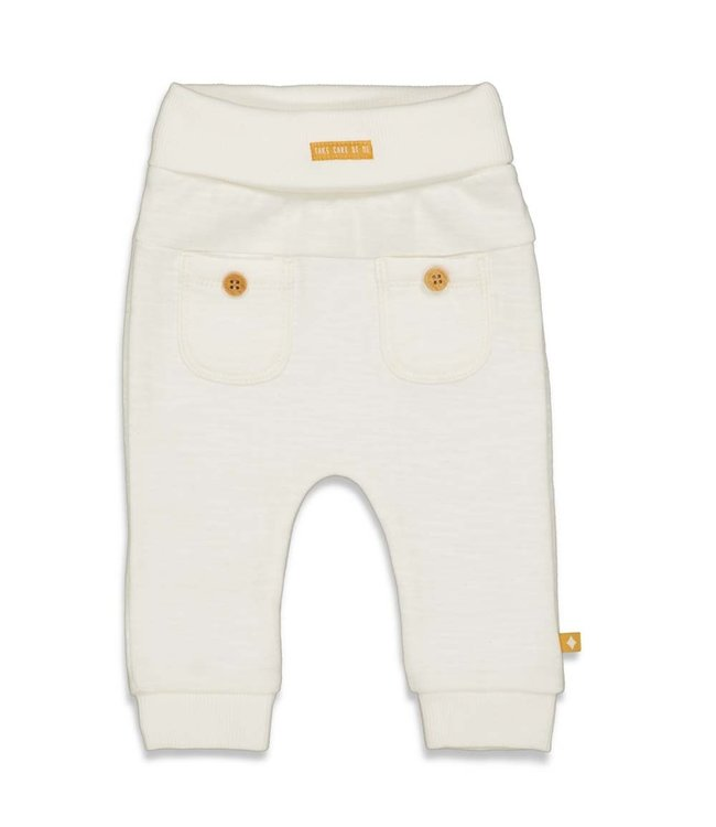 Feetje Broek - Welcome to Earth Off white