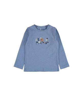 Name it NMFREGINA LS TOP Colony blue