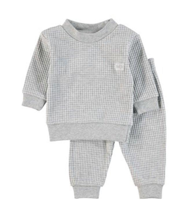 Feetje Wafel pyjama Grijs