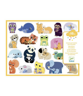 Djeco Grote stickers dieren