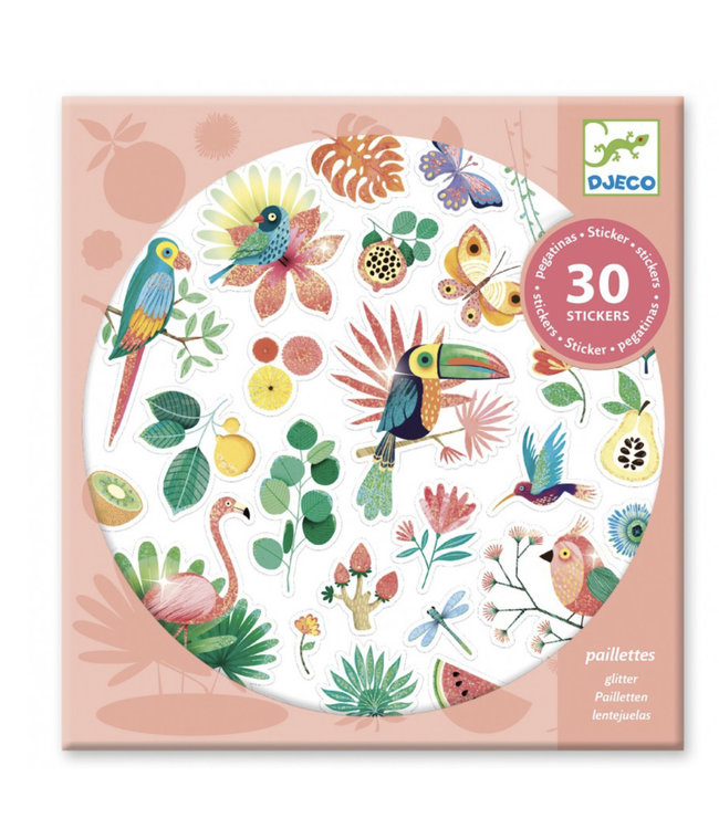 Djeco Stickers paradijs