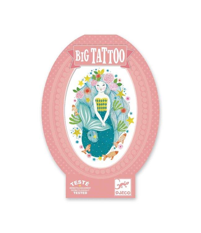 Djeco Big tattoo zeemeermin