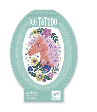 Djeco Big tattoo paard