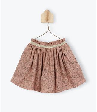 Arsene et les Pipelettes Dog print skirt