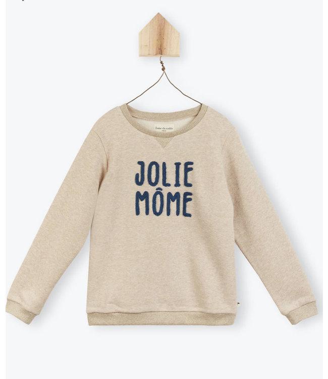 Arsene et les Pipelettes Sweatshirt Jolie mome
