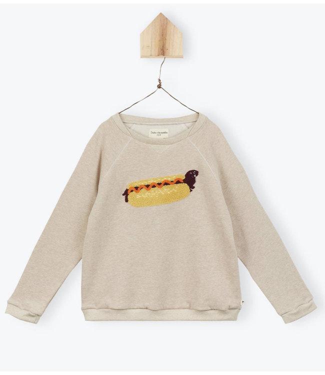 Arsene et les Pipelettes Hot dog sweatshirt
