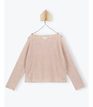 Arsene et les Pipelettes Sweater jersey knit pink