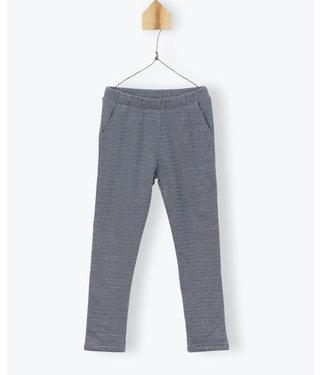 Arsene et les Pipelettes Herringbone fleece trousers
