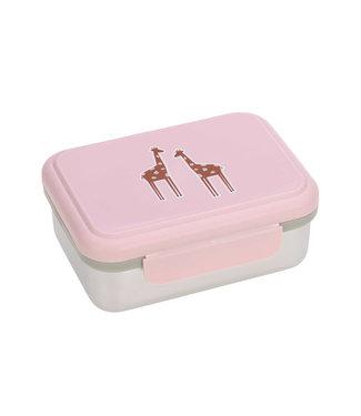 Lassig Lunchbox Stainless Steel Safari Giraffe