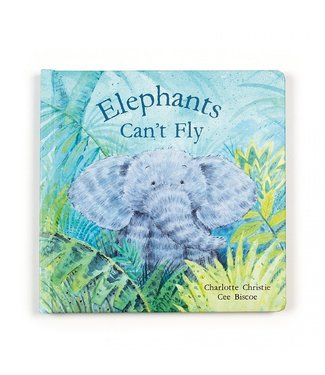 Jellycat Boek Elephants can't fly