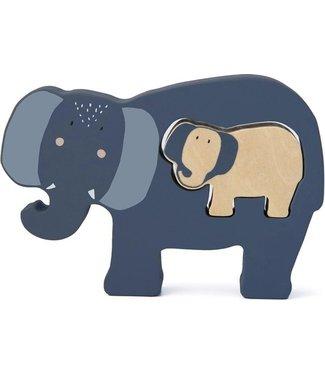 Trixie Trixie baby puzzel olifant