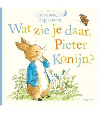 Wat zie je daar Pieter Konijn?