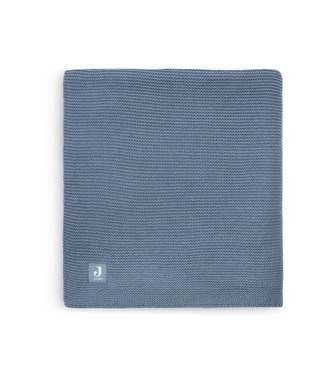 Jollein Deken basic knit 75x100 jeans blue