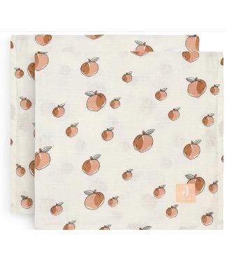 Jollein Hydrofiele doek 115x115cm Peach
