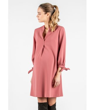 ATTESA Dress with Ribbons on Cuffs Cipolla