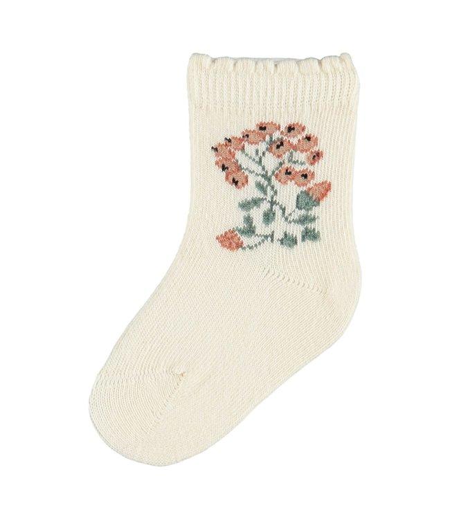 Name it NBFNanna Sock Whitecap Grey