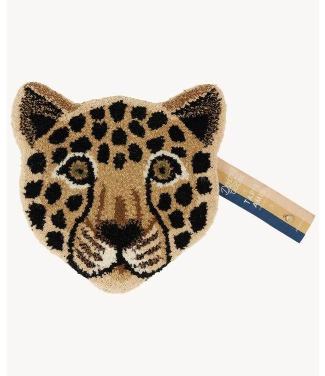 Doing Goods Dierenhoofd voor muur Loony Leopard