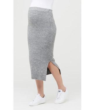 Ripe Ripe Beck Knit Skirt Charcoal Marle