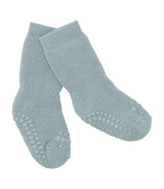 GObabyGO Non Slip Socks Dusty Blue