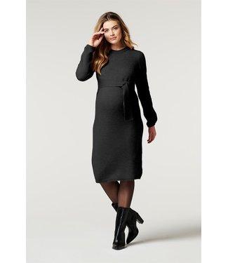 Noppies Dress ls Hannah Black melange