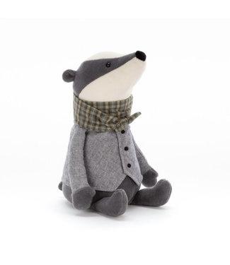 Jellycat Riverside rambler badger