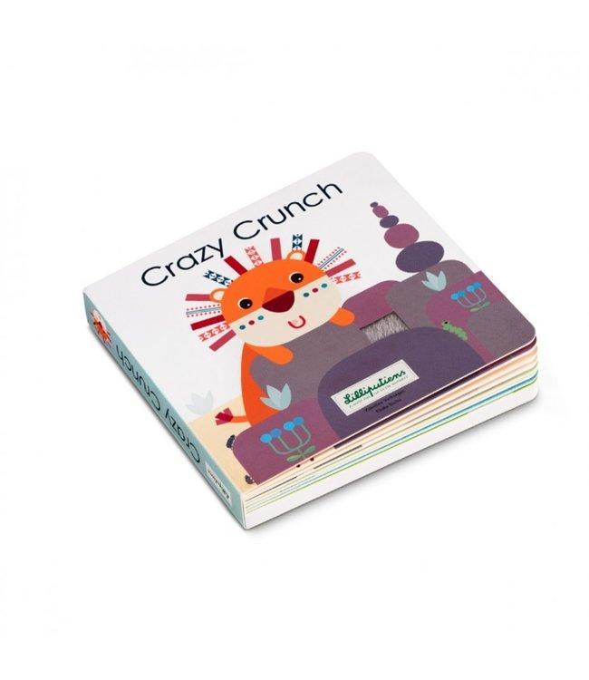 Lilliputiens Crazy Crunch - Voelboek met Geluiden