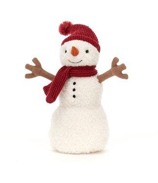 Jellycat Teddy snowman knuffel