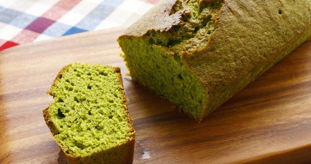 Recept:  Matcha Groene Thee Cake
