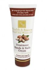 H&B Dead Sea Minerals Handcrème Argan; 180 ml.