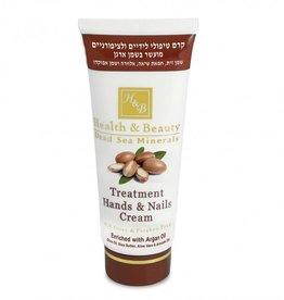 H&B Dead Sea Minerals Handcrème Argan