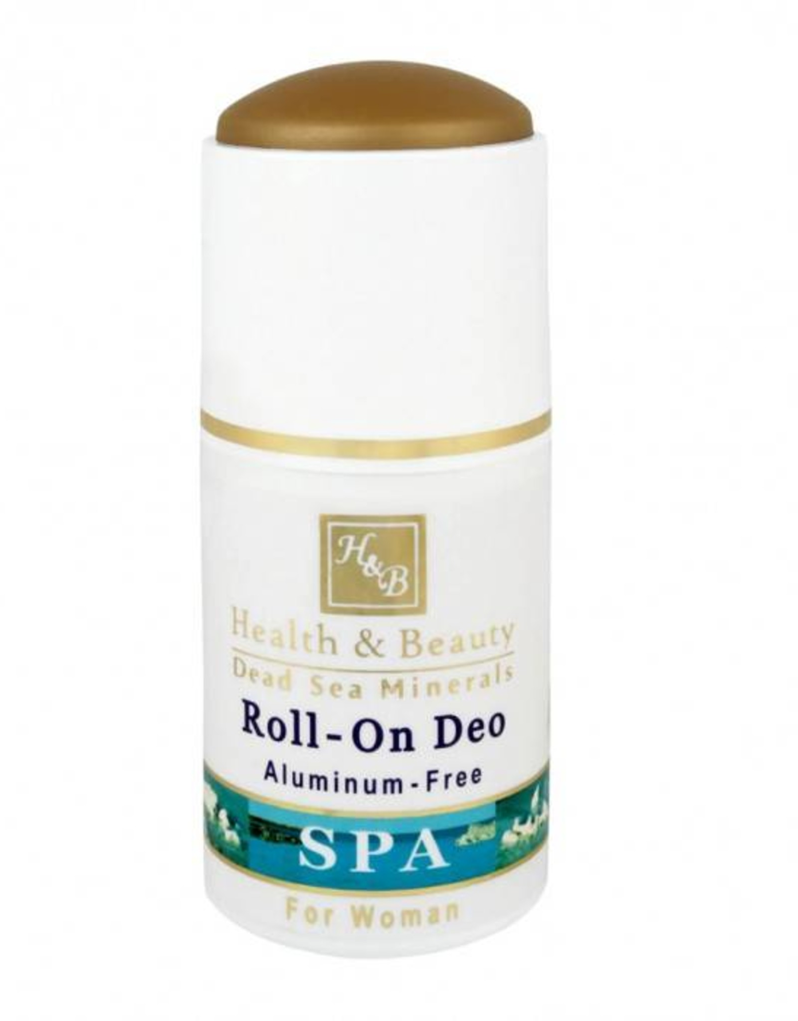 H&B Dead Sea Minerals Deodorant roller voor vrouwen