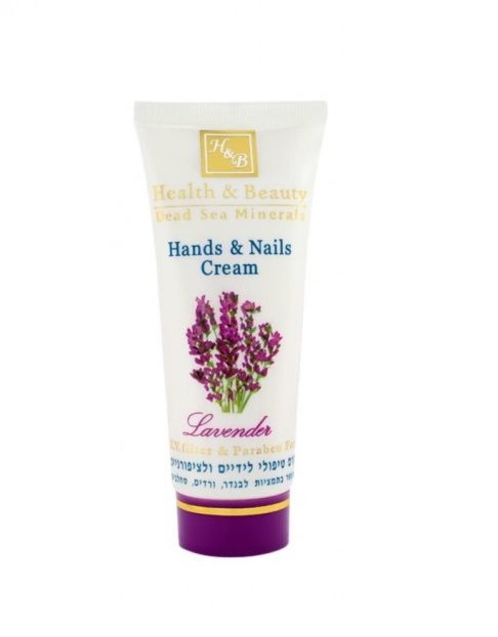 H&B Dead Sea Minerals Handcrème Lavendel