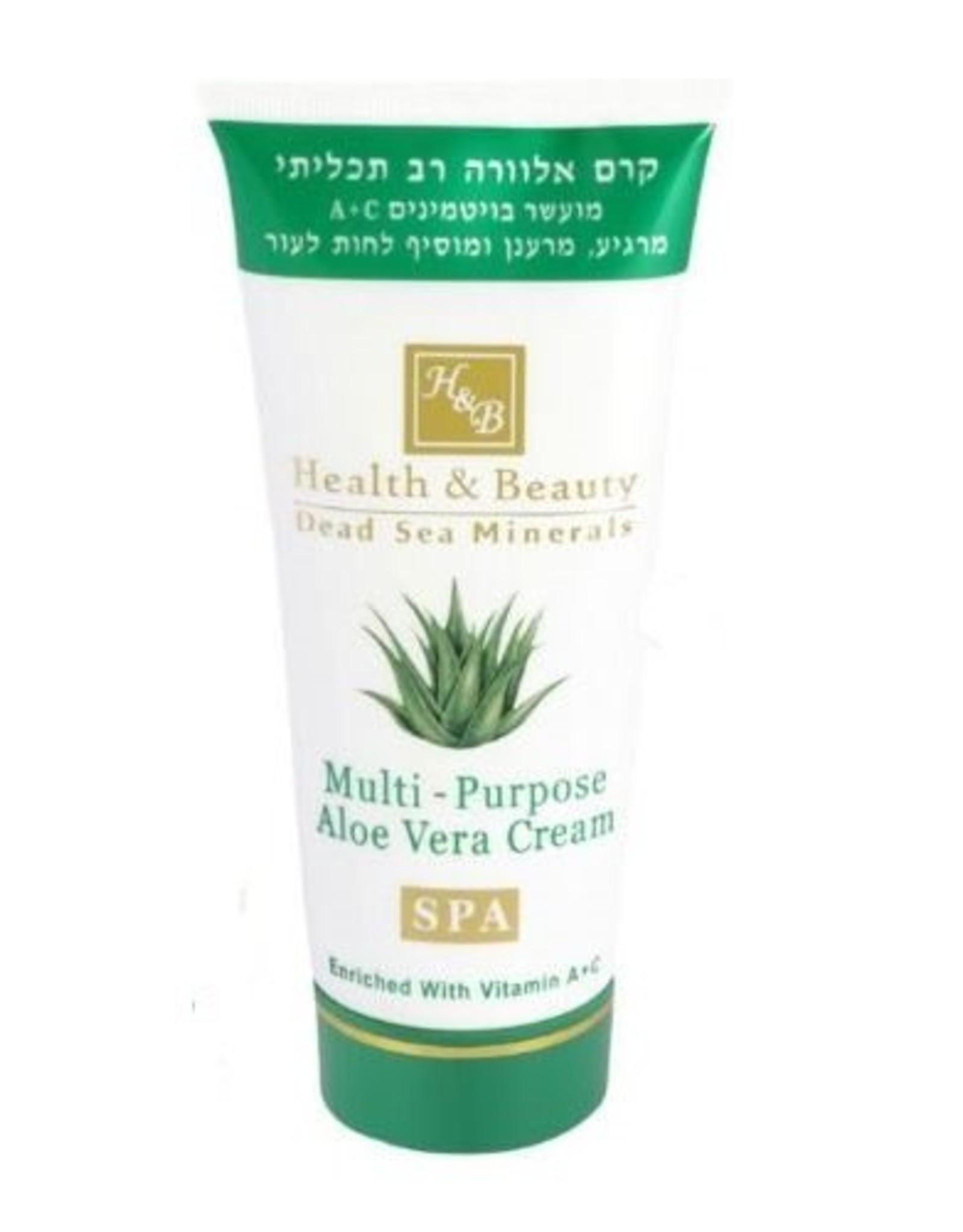 H&B Dead Sea Minerals Aloë Vera bodycrème