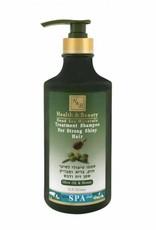 H&B Dead Sea Minerals Olijfolie & honing shampoo, voor dagelijks gebruik
