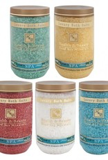 H&B Dead Sea Minerals Dode zeezout; geel / vanille
