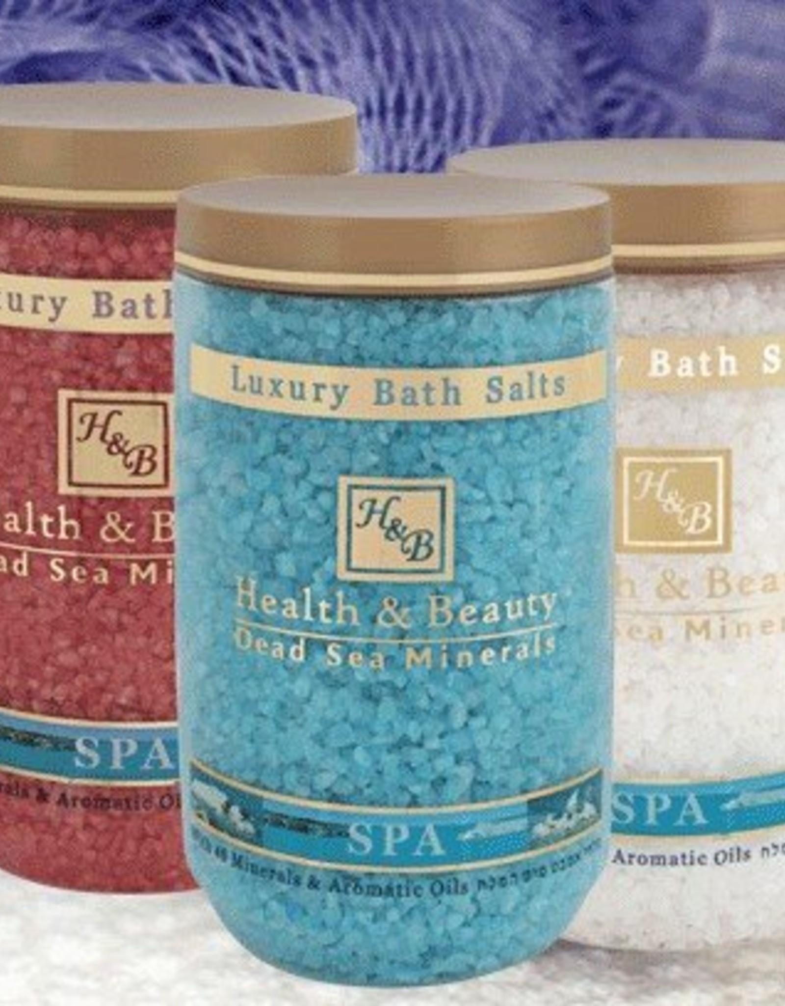 H&B Dead Sea Minerals Dode zeezout; blauw/lavendel
